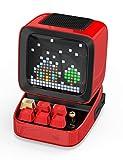 Altavoz Bluetooth Divoom Ditoo Retro Pixel Art con Pantalla LED RGB programable, Dispositivo para Juegos con Teclado mecánico y Reloj Despertador Inteligente