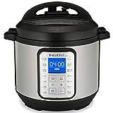 Instant Pot Olla a presión eléctrica DUO PLUS 8L.15 programas inteligentes: olla a presión, olla arrocera, olla de cocción lenta, vapore