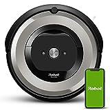 iRobot Roomba e5154 Wifi, Robot aspirador óptimo para mascotas, aspiración alta potencia, 2 cepillos goma, alfombras y suelos, Dirt Detect, sugerencias personalizadas, compatible con asistentes voz- comprarobot -