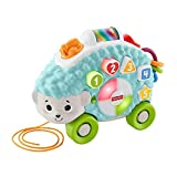 Fisher-Price-GHR16 Linkimals Happy Shapes Erizo, Juguete Interactivo para bebés con Luces y Sonidos, Multicolor, 13 x 33 x 21.6 cm (Mattel GHR16)