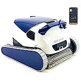 DOLPHIN Robot Limpiafondos de Piscina Automático - Cubre hasta 12 m - Limpia Fondo, Paredes y Línea de Agua - Incluye App y WiFi - Accesorios Piscina - Garantía de 2 Años Blue - Maxi 40i Maytronics