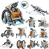 OFUN Juguete Robot Stem para niños, 12 en 1 Robots Kit de Ciencia Divertido Juego Creativo y DIY Juguetes, Manualidades Regalos para niños de 8 a 12 años