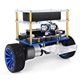 ELEGOO Tumbller Auto-Equilibrio Robot Coche Kit Compatible con Arduino IDE Stem Kits Juguetes para Niños y Adultos (Azul)