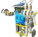 14-en-1 para la Educación Solar Robot Ki