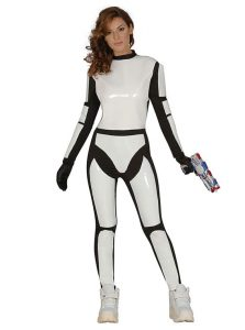 Disfraz mujer soldado imperial Star Wars