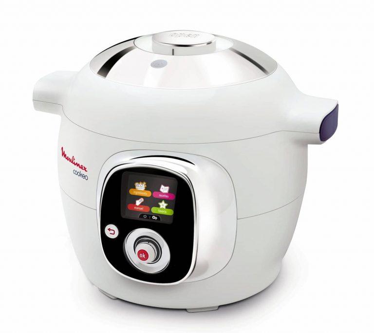 Moulinex Cookeo CE701010 - Robot de cocina (1200 W, capacidad para 6 comensales, capacidad de 6 l, 50 recetas)