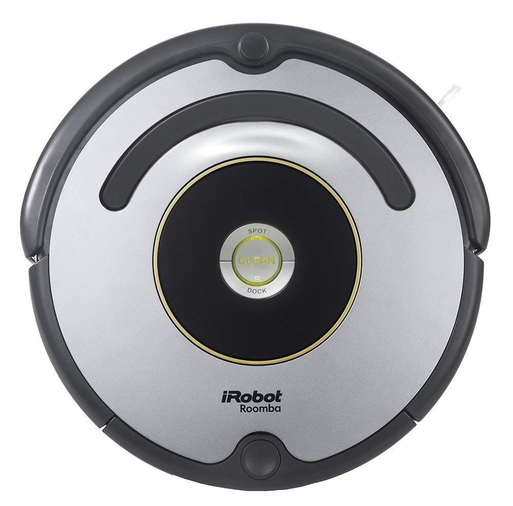 iRobot Roomba 615 - Robot aspirador para suelos duros y alfombras, con tecnología Dirt Detect, sistema de limpieza con 3 fases