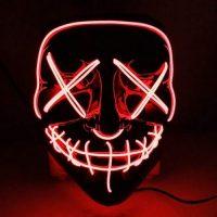 mascara halloween luminosa terror
