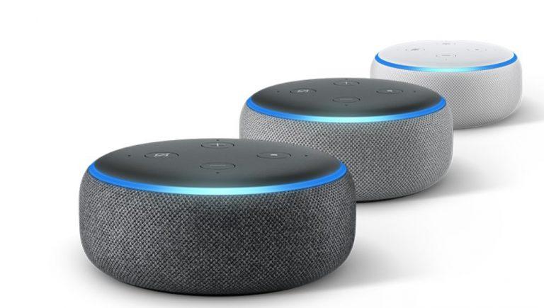 Comprar altavoz inteligente Amazon Echo con Alexa www.comprarobot.com