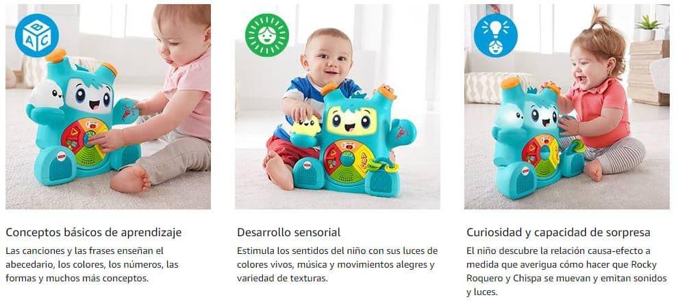 rocky robot mejor juguete para niños